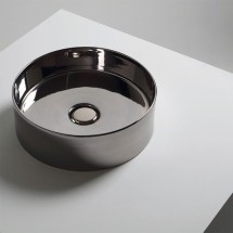 LAVABO HIDE CIRCLE PLATINO