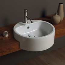 LAVABO SEMICASSO FORM ROUND 46