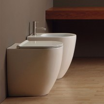 WC+BIDET FORM SQUARE H50