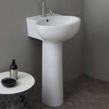 LAVABO SHORT 55 CON COLONNA