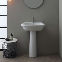 LAVABO SHORT 65 CON COLONNA